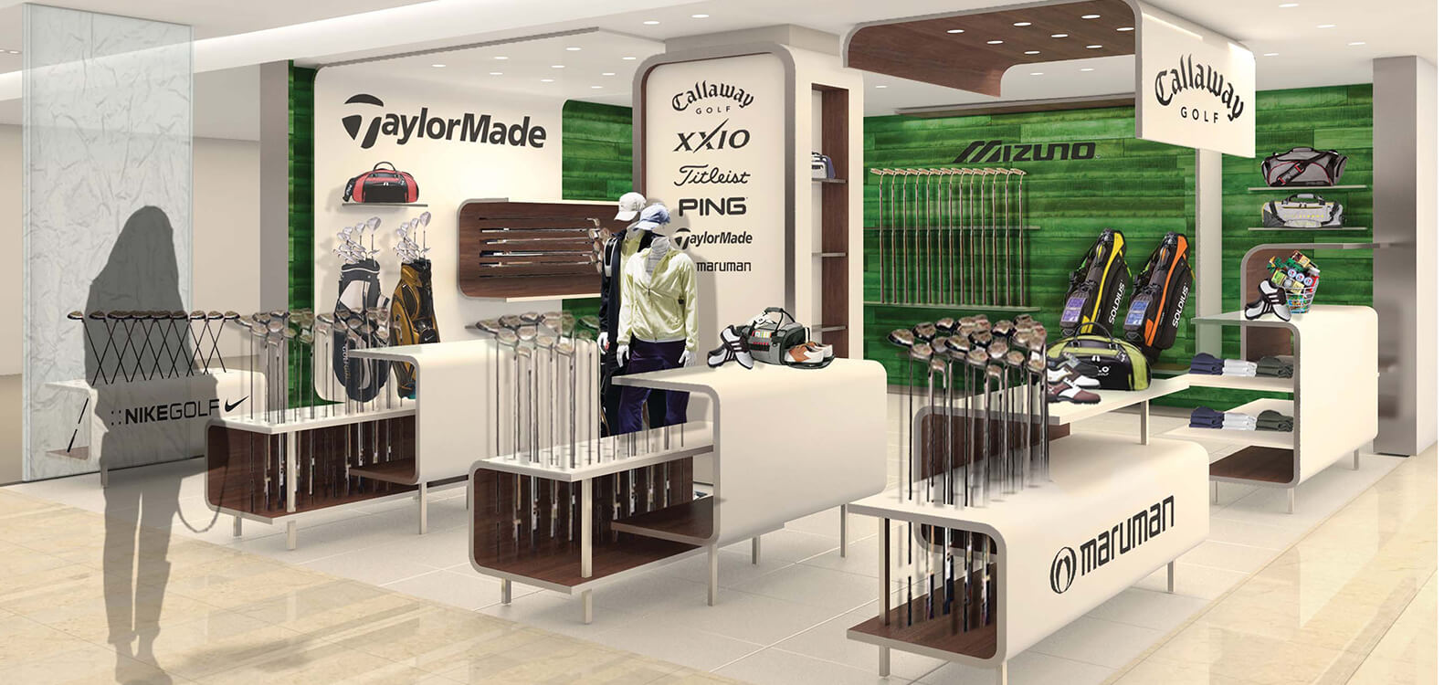 Golf Shop, Chungcheong, S. Korea