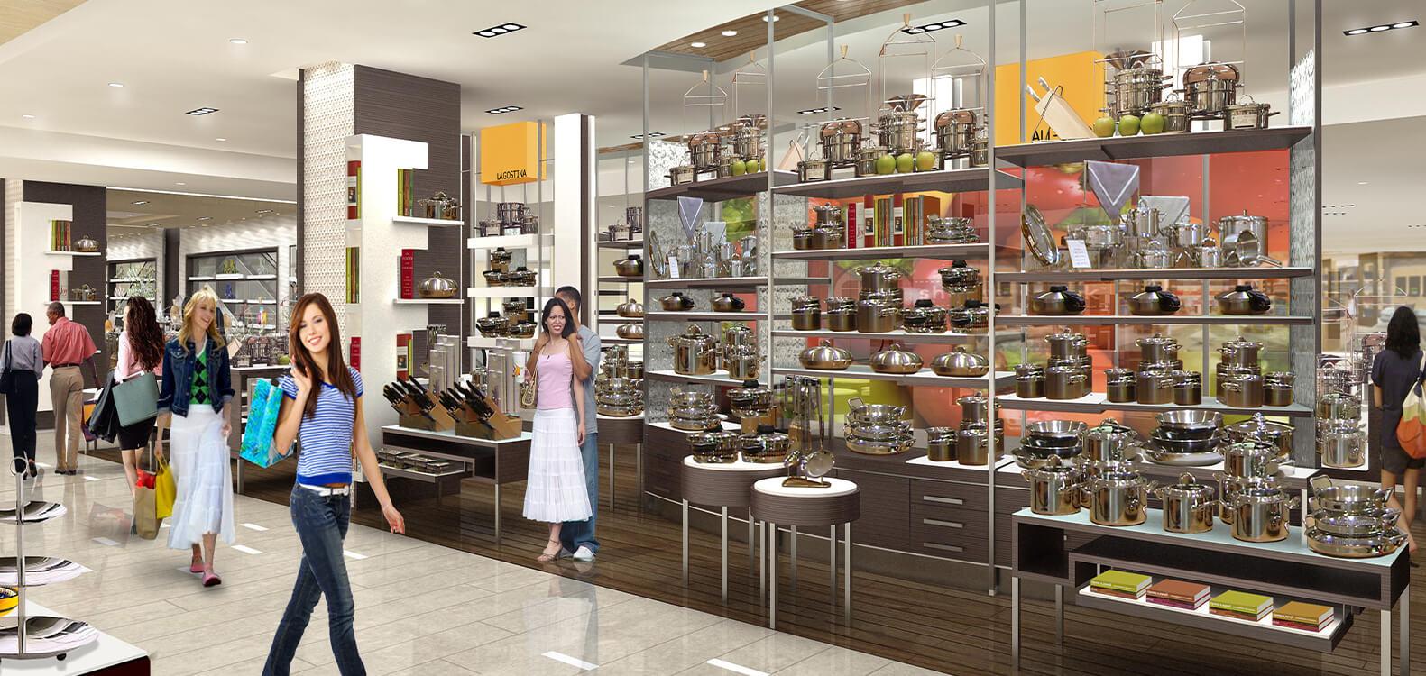 Hyundai Soul Mall Kitchenware, Corée du Sud