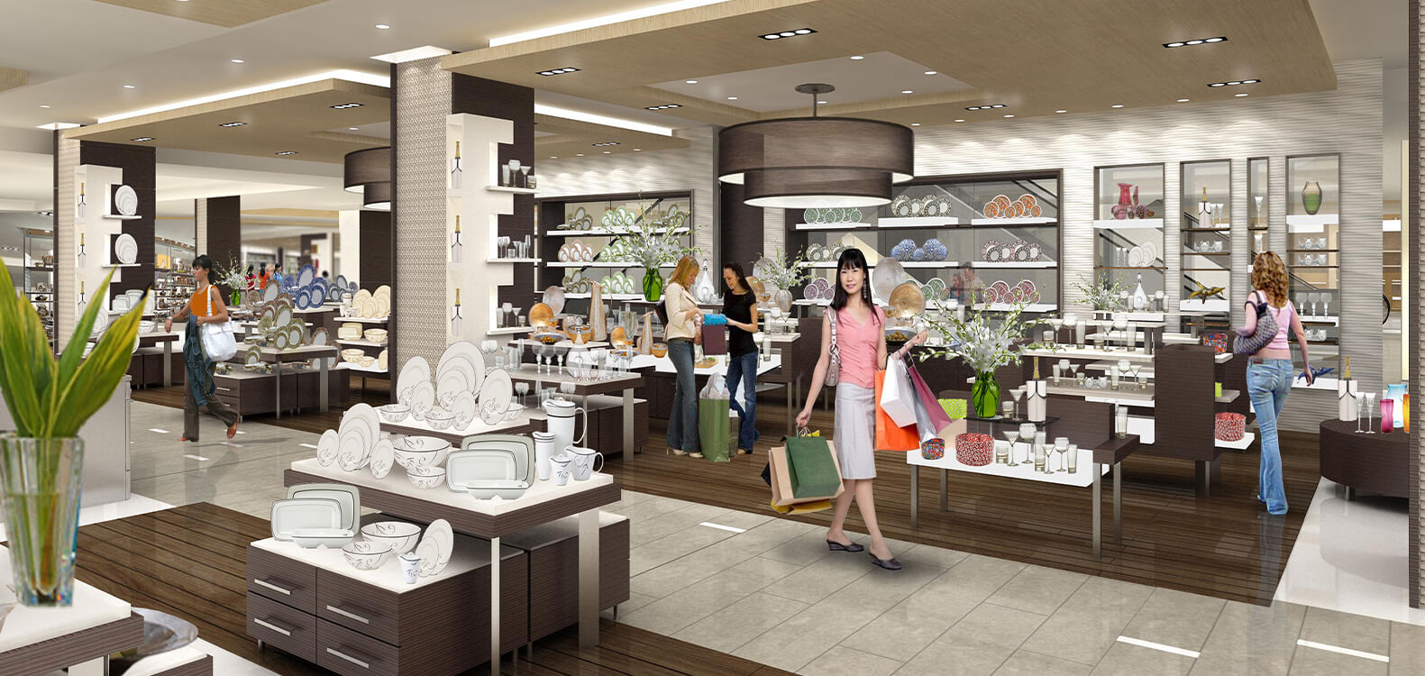 Hyundai Soul Mall Tableware, Corée du Sud
